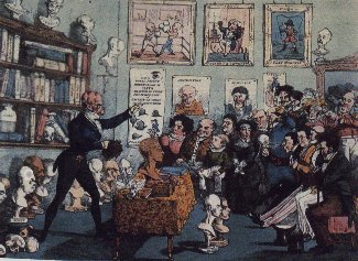 Calves' Heads and Brains, or A Phrenological Lecture. 1826